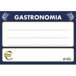 KIT 10 CARTELLINI NEUTRI GASTRONOMIA PESCHERIA F.TO 10X14