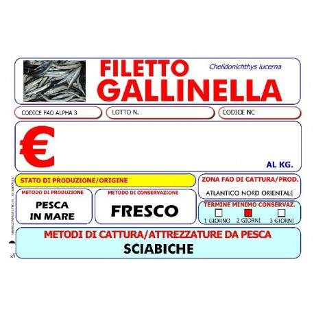 FILETTO GALLINELLA