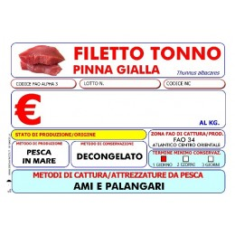 FILETTO TONNO PG