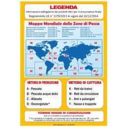"LOCANDINA ""LEGENDA"" PVC DA 500 MY 20X29"